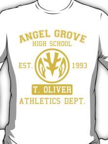 Angel Grove H.S. (White Ranger Edition) T-Shirt