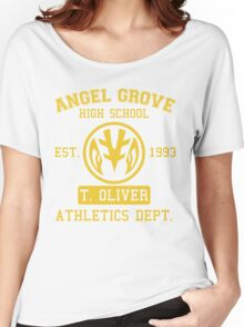 Angel Grove H.S. (White Ranger Edition) Women's Relaxed Fit T-Shirt