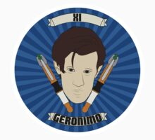 Eleven - Geronimo - Sticker by Ebonrook