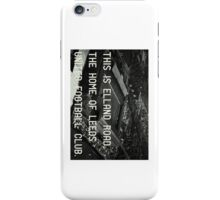 Leeds United Football Club iPhone Case/Skin