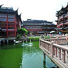 Yuyuan Gardens, Shanghai, China. by Ralph de Zilva