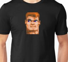 Wolfenstein 3D (Head) - Retro DOS game fan shirt HD pixels Unisex T-Shirt