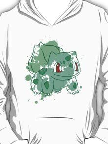 Bulbasaur Splatter T-Shirt