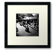 Flinders Street Patience Framed Print
