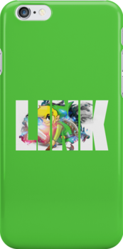 Toon Link Text (Green) by Depixels