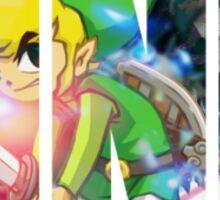 Toon Link Text (Green) Sticker