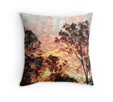 Sunset Samford Valley Throw Pillow