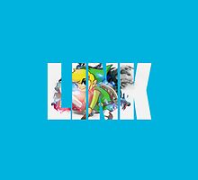 Toon Link Text (Light Blue) by Depixels