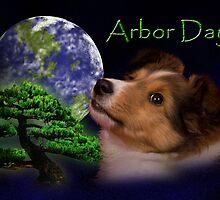 Arbor Day Sheltie Puppy by jkartlife
