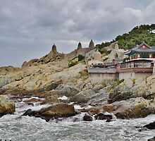 Dragon Temple on a Cloudy Day by Fike2308