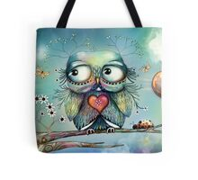 little wood owl Tote Bag