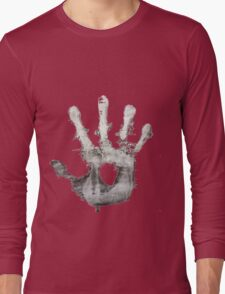 Orc Hand Print Long Sleeve T-Shirt