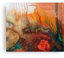 Sunset on Signal Mountain Canvas Print