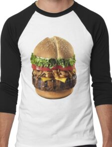 Burger Men's Baseball ¾ T-Shirt