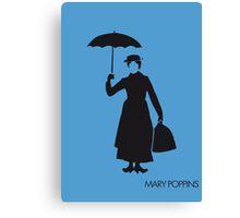 Mary poppins Canvas Print