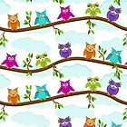 happy owls  by Ancello