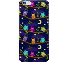 owls in the night iPhone Case/Skin