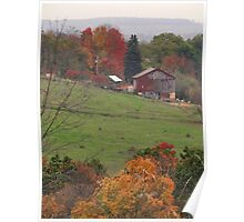 Great Fall Scenery 4 Poster