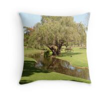 Meandering Waterway, 'Veale Gardens' Adelaide CBD. Throw Pillow