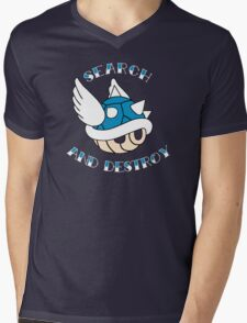 Search and Destroy Mens V-Neck T-Shirt