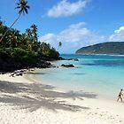 Lolamanu beach, Upolu Island, Samoa by John Kleywegt