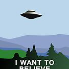 I want to believe iPhone case by Sarah  Mac