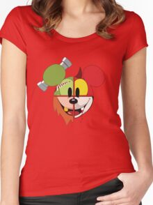Mickey's Costumes Women's Fitted Scoop T-Shirt