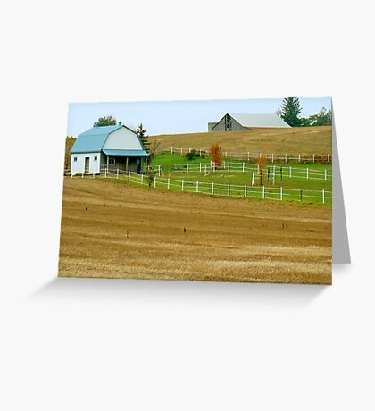 Fall in the Country Greeting Card