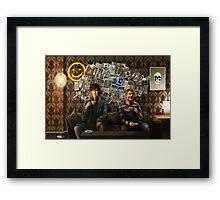 Wall of Memories Framed Print