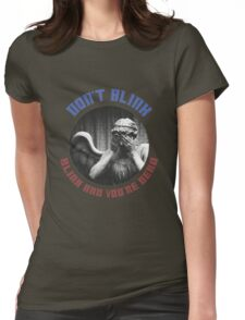 The Weeping Angel Tee  Womens Fitted T-Shirt