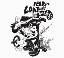 Fear and Loathing in Cartoonland! by tshirtsfunny