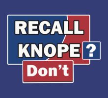Recall Knope? Don't by HighDesign