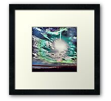 Early Morning Halo and Sundogs Framed Print