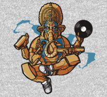 Hip Hop Ganesh by tshirtsfunny