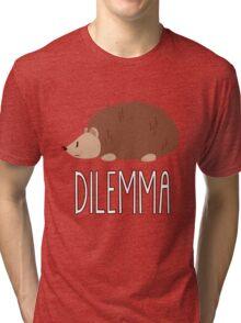 hedgehog's dilemma Tri-blend T-Shirt