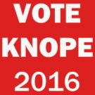 Vote Knope 2016 by HighDesign