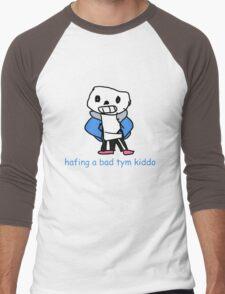 Sans the Skeleton Men's Baseball ¾ T-Shirt