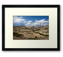 Gozo countryside in colour Framed Print