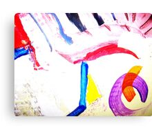 Winged Sandals of Hermes Canvas Print