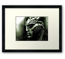 Thane Krios: Mass Effect Fan Art Framed Print