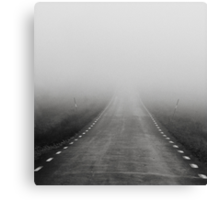 The road to nowhere... Canvas Print