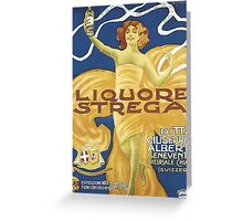 Liquore Strega Greeting Card