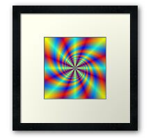 Psychedelic Whirl  Framed Print