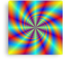 Psychedelic Whirl  Canvas Print