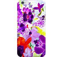 Orchids in mauve iPhone Case/Skin