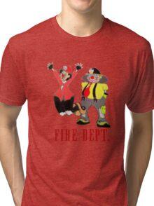 Clown Town Wear Tri-blend T-Shirt