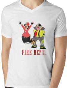 Clown Town Wear Mens V-Neck T-Shirt