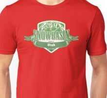Snowbasin Utah Ski Resort Unisex T-Shirt
