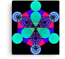 Hyper Metatron Canvas Print