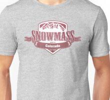 Snowmass Colorado Ski Resort Unisex T-Shirt